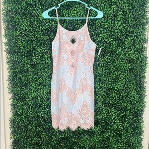 Impeccable pig size medium lace dress